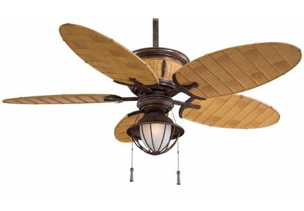 52 Shangri La 5 Blade Outdoor LED Ceiling Fan by Minka Aire