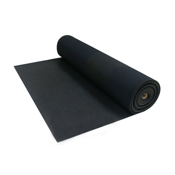 Tuff-n-Lastic Rubber Runner Mat Rolled Flooring by Rubber-Cal, Inc.
