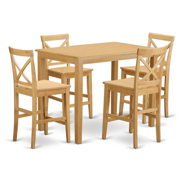 Socha 36-inch Pub Table Set by Charlton Home Charlton Home