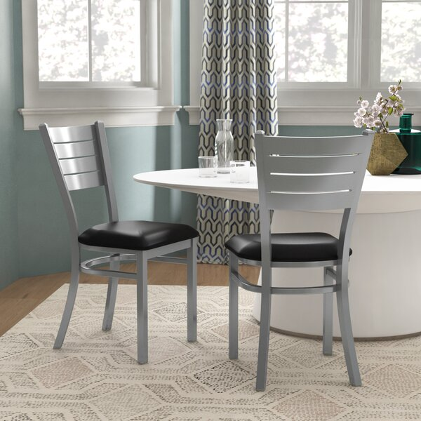 Alvera Upholstered Dining Chair (Set of 2) by Ebern Designs