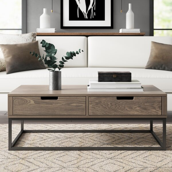 Jerri Coffee Table With Storage by Greyleigh Greyleigh