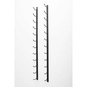 Wall Series 30 Bottle Wall Mounted Wine Bottle Rack by VintageView