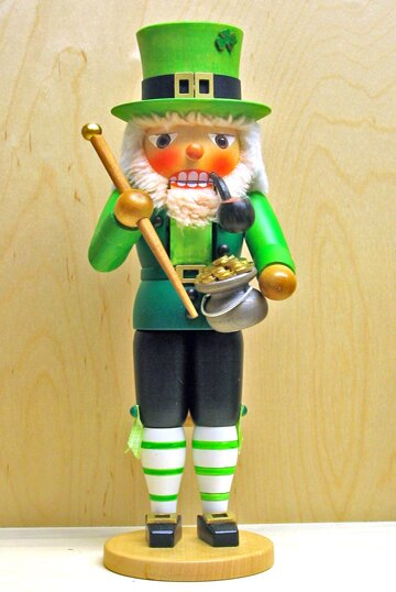 St Patricks Day Irish Man German Nutcracker by Pinnacle Peak Trading Co