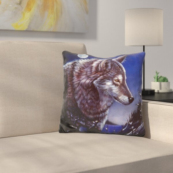 Lonely One Throw Pillow by East Urban Home