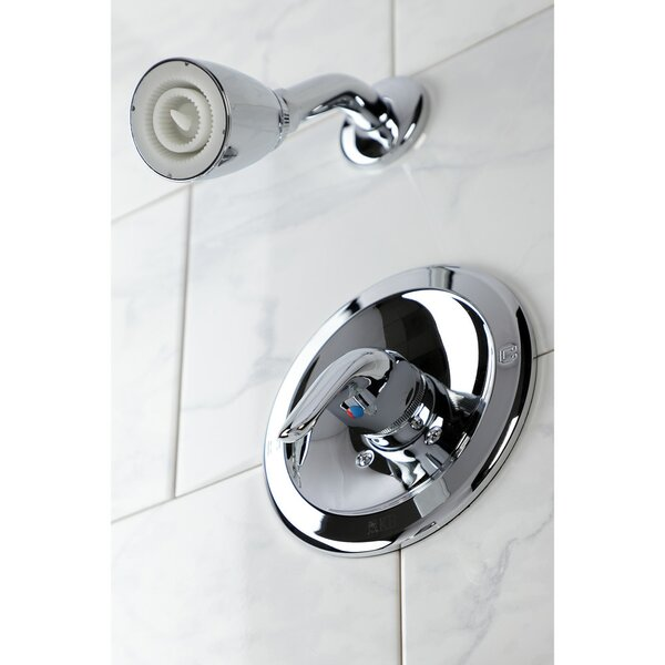 Temperature Control Shower Faucet with Rough-in Valve by Kingston Brass Kingston Brass