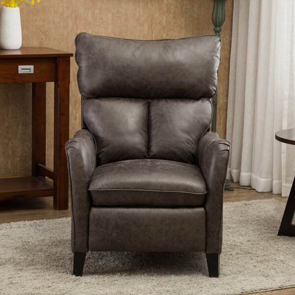 Amii Faux Leather Manual Recliner W003496177