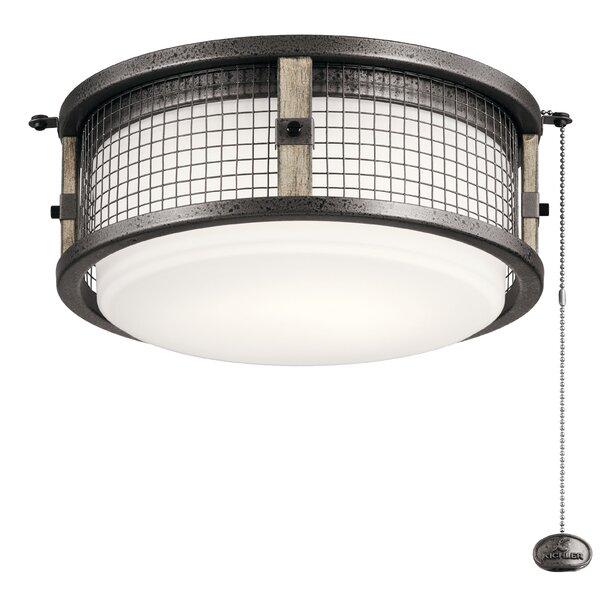 1-Light Fitter Ceiling Fan Light Kit by 17 Stories