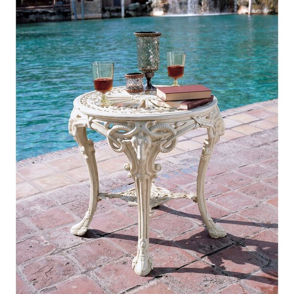 Victorian Metal Side Table by Design Toscano