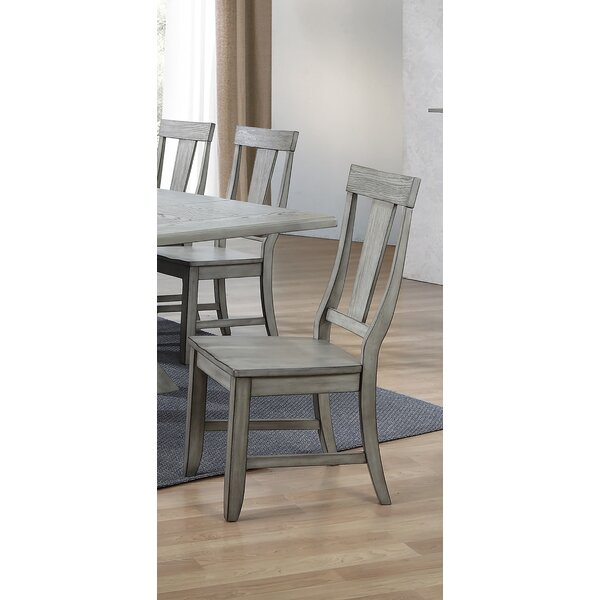 Vergara Solid Wood Dining Chair (Set of 2) by Ophelia & Co.