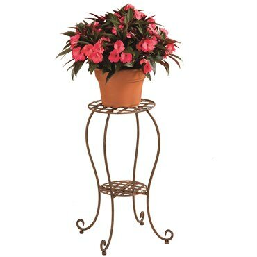 Deer Park Lattice Plant Stand by Southern Patio®