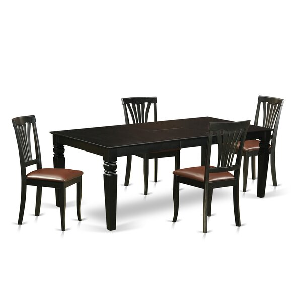 Apfel 5 Piece Dining Set by Darby Home Co