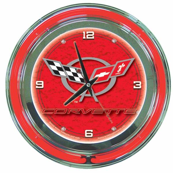 14 Corvette C5 Wall Clock by Trademark Global