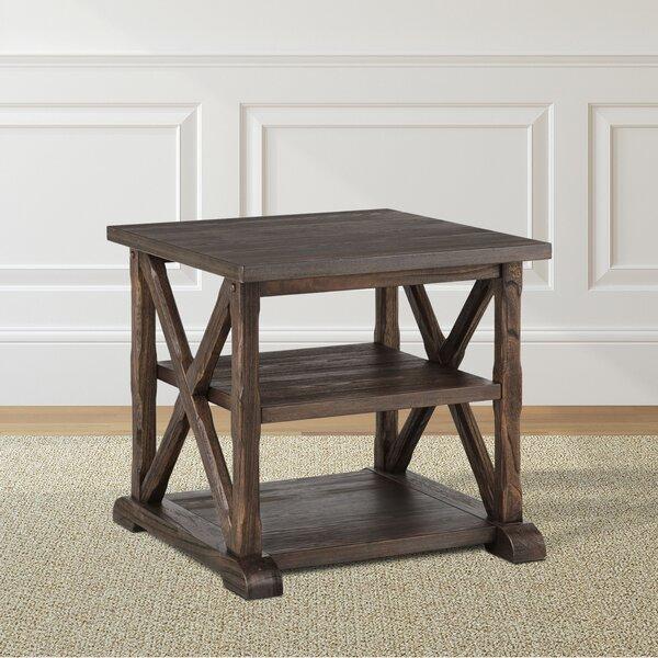 Hageman End Table by Gracie Oaks