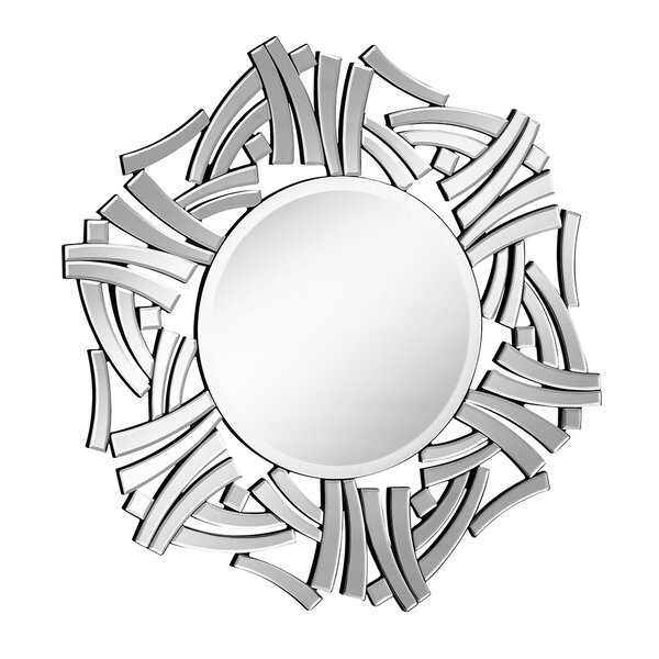 Mounting Hardware Wall Mirror by Latitude Run