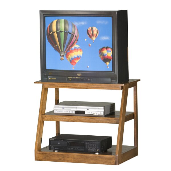 Pilar Solid Wood TV Stand For TVs Up To 32