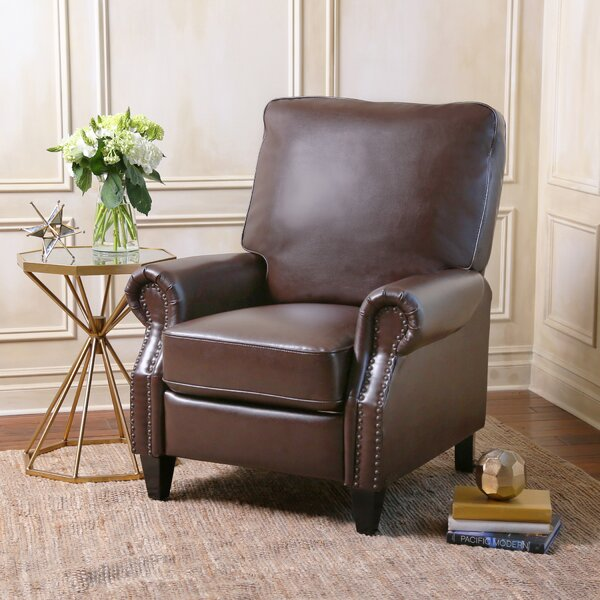 Wheatland Manual Recliner by Three Posts