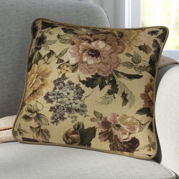 Askew Golden Romance Throw Pillow by Astoria Grand