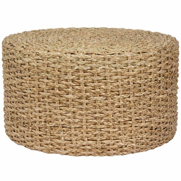 Kianna Rush Grass Knotwork Coffee Table by Beachcrest Home Beachcrest Home