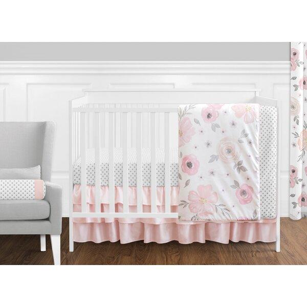 Watercolor Floral 11 Piece Crib Bedding Set by Sweet Jojo Designs