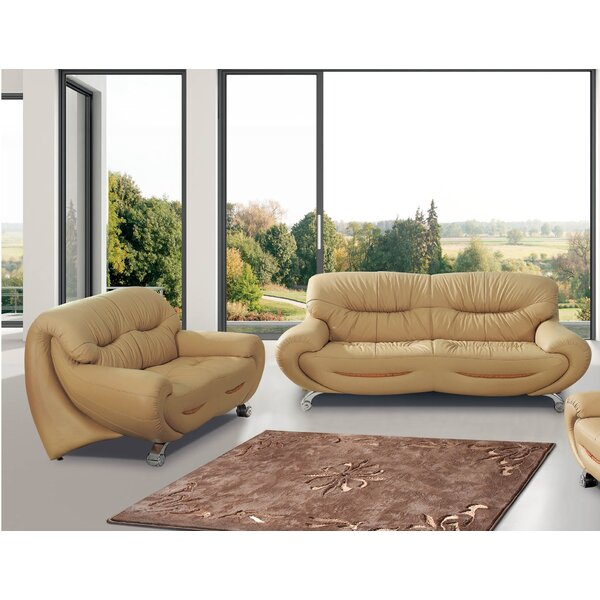 2 Sleeper Piece Living Room Set by Noci Design