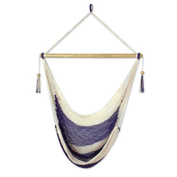 Haydon Paradise Cotton Chair Hammock by Highland Dunes