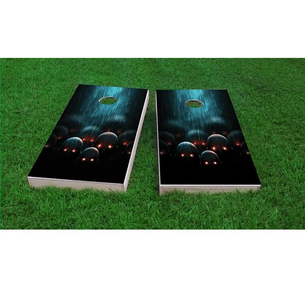 Eyed Apocalyptic Zombies Light Weight Cornhole Game Set by Custom Cornhole Boards