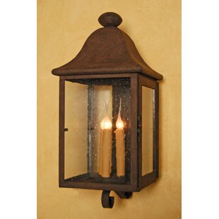 Bargain Antigua 3-Light Outdoor Wall Lantern By Laura Lee Designs
