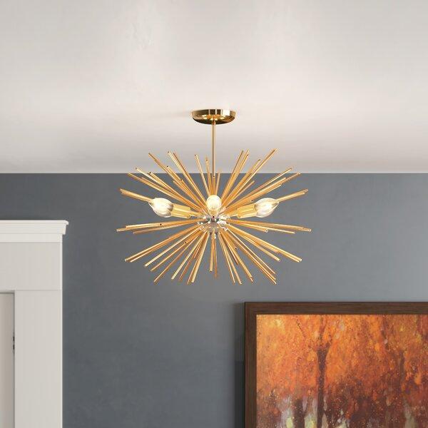 Mosqueda 6 - Light Sputnik Sphere Chandelier by Wrought Studio Wrought Studio