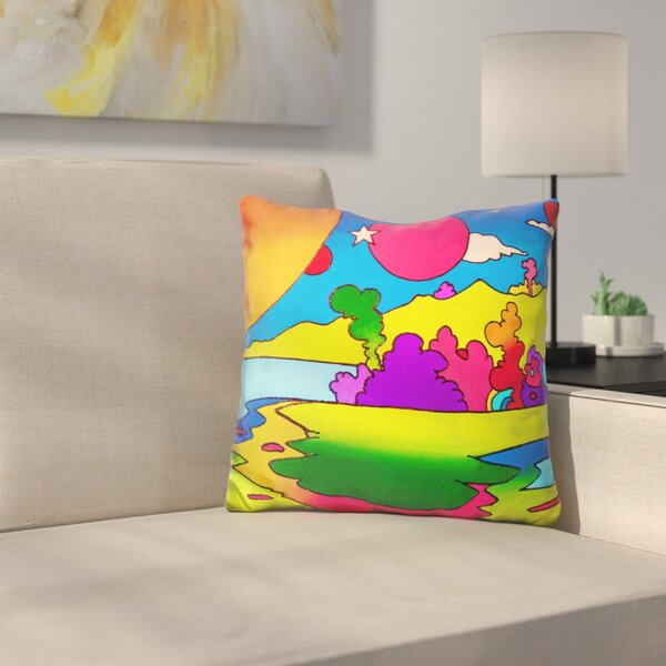 Landscape Throw Pillow by East Urban Home