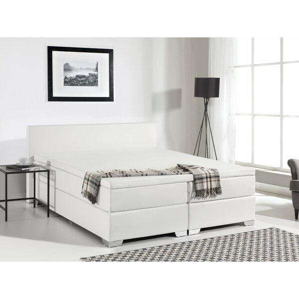 Gaskill Upholstered Platform Bed with Mattress by Brayden Studio
