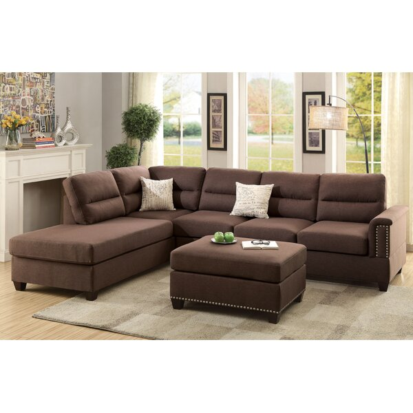 Andy Sectional with Ottoman by A&J Homes Studio