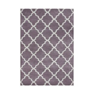 Sandy Hand-Tufted Purple Area Rug By The Conestoga Trading Co.