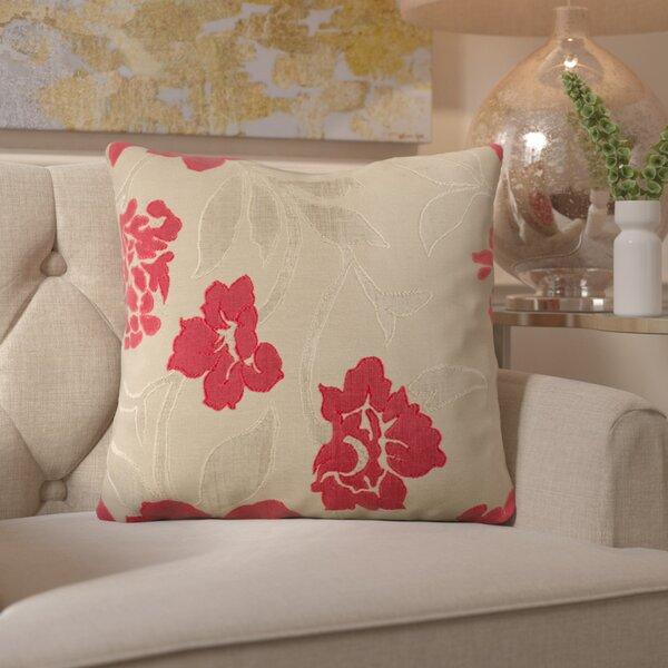 Beatrix Wild Throw Pillow by House of Hampton