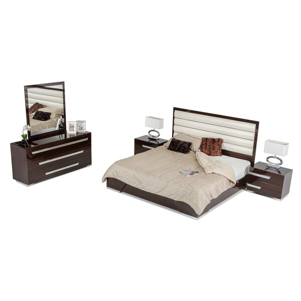 Sommerset Contemporary Panel 5 Piece Bedroom Set by Orren Ellis
