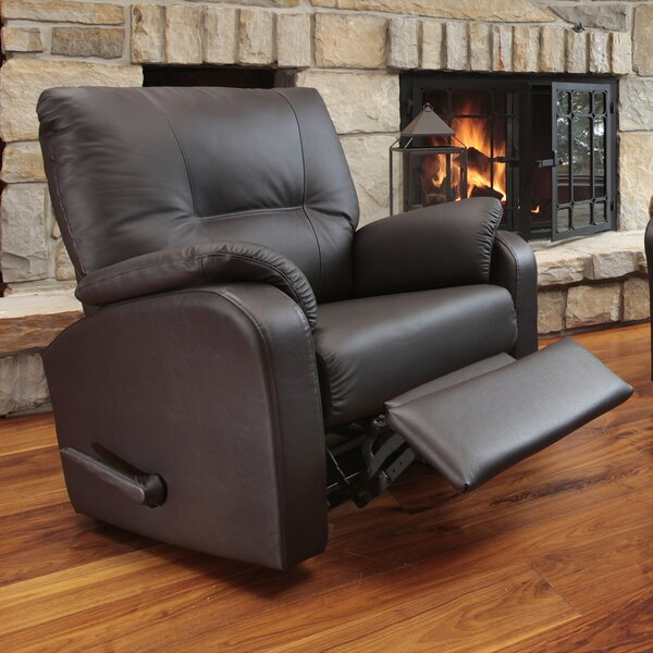 Beatrice Leather Power Rocker Recliner by Relaxon