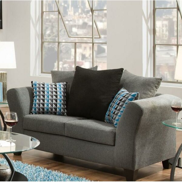 Freddie Loveseat by Ebern Designs