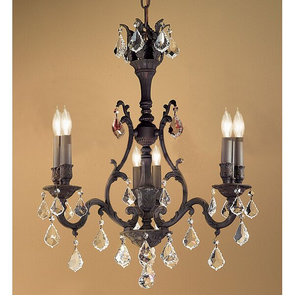 Fagundes 6 - Light Candle Style Classic / Traditional Chandelier by Astoria Grand Astoria Grand