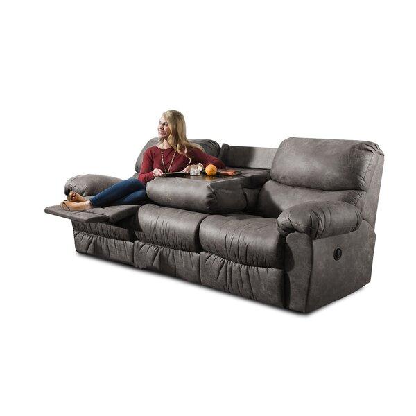Alviso Reclining Sofa by Loon Peak