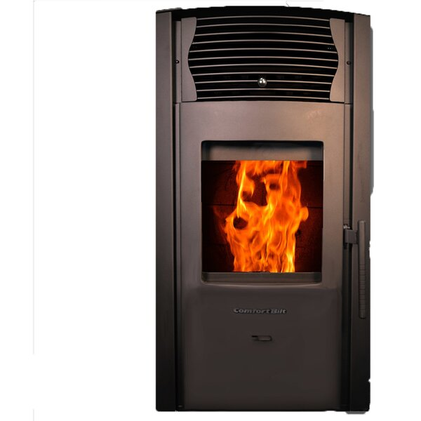 Free Shipping 2,200 Sq. Ft. Direct Vent Pellets Stove