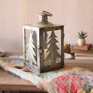 Searching for Galvanized Tree Metal Lantern By Kalalou