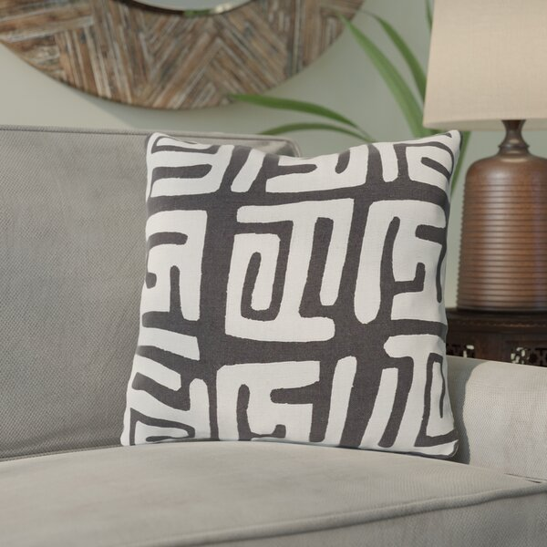 Kreta Linen Throw Pillow by Bungalow Rose