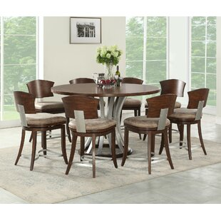 Find the perfect Villa 9 Piece Counter Height Dining Set By World Menagerie