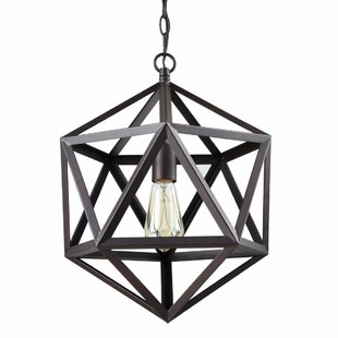 Pollux 1 Light Geometric Pendant