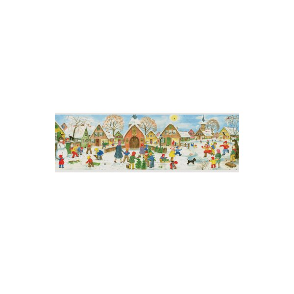 Panorama Village Advent Calendar by Alexander Taron