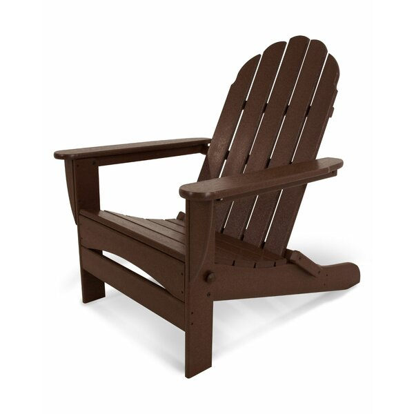 Oversize Classic Adirondack Plastic Folding Adirondack Chair by POLYWOOD POLYWOOD®
