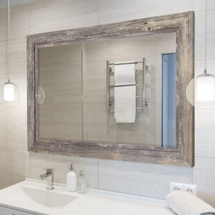 Charmant Coastal Beveled Accent Mirror