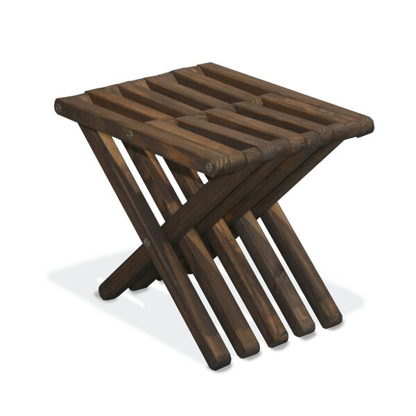 Xquare Solid Wood Side Table by GloDea