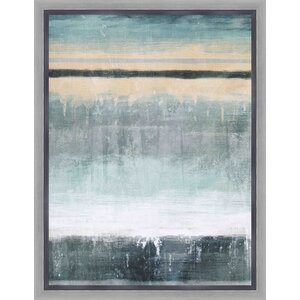 Soft Tones II Framed Painting Print by PTM