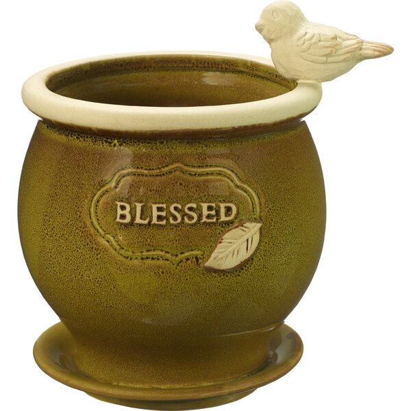 Blessed Ceramic Pot Planter by Precious Moments