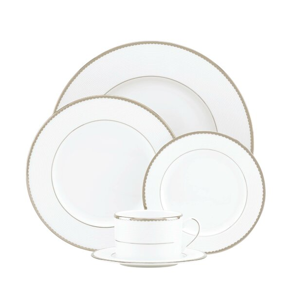 Sugar Pointe Bone China 5 Piece Place Setting, Service for 1 by kate spade new york